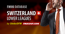 Switzerland Lower Leagues for FM16