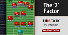 FM16 Tactic: The '2' Factor