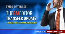 TheFMEditor Transfer Update 2016 + England Level 11. WINTER TRANSFER UPDATE