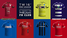TW'15 kits - Belgian Pro League 2015/16