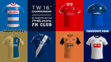 TW'15 kits - Football League Championship 2015/16 (Update 10/05/16)