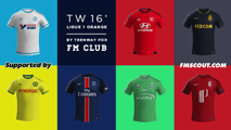 TW'15 kits - Ligue 1 2015/16