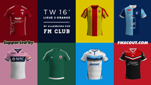 TW'15 kits - Ligue 2 2015/16