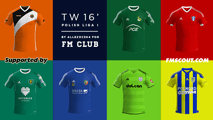 TW'15 kits - Polish ILiga (2nd division) 2015/16