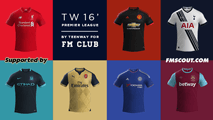 TW'15 kits - Barclays Premier League 2015/16