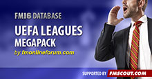 UEFA Leagues Megapack for FM16