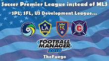 U.S.A. Leagues Reconstructed - FM16
