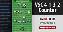 VSC 4-1-3-2 Counter Attack