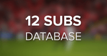 12 substitute players database