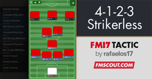4-1-2-3 Strikerless FM17