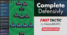 FM 2017 Complete 4-3-1-2 Football Tactic