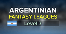 Argentinian Fantasy League System (7 level, 875 clubs)