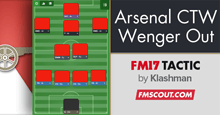 Arsenal FM17 Tactic - Control The World