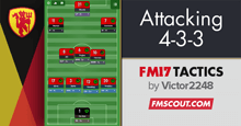 Attacking 4-3-3 by Victor2248