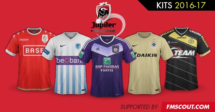 Belgium Jupiler Pro League 2016 17 Ss Kits Fm Scout