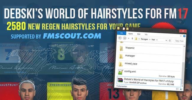 Debski\'s World of Hairstyles - Regens Hair Pack for FM17 ...
