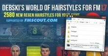 Debski's World of Hairstyles - Regens Hair Pack for FM17