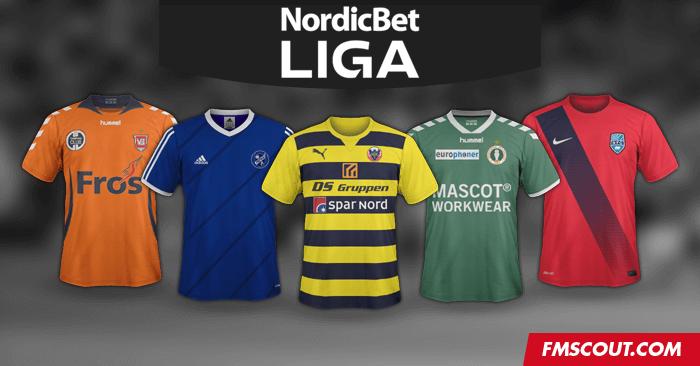 Denmark NordicBet Liga SS Kits 16/17 | FM Scout
