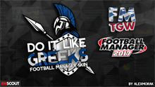 Do It Like Greeks FM 2017 Skin v.0.9
