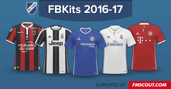0825e50cc1c Football Manager 2017 Kits - FB Kits Megapack 2016-2017