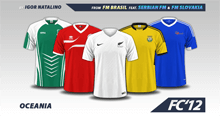 Oceania Nations 2016 kits