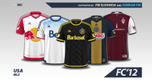 USA MLS 2016 kits
