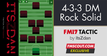 4-3-3 Rock Solid Defending Tactic