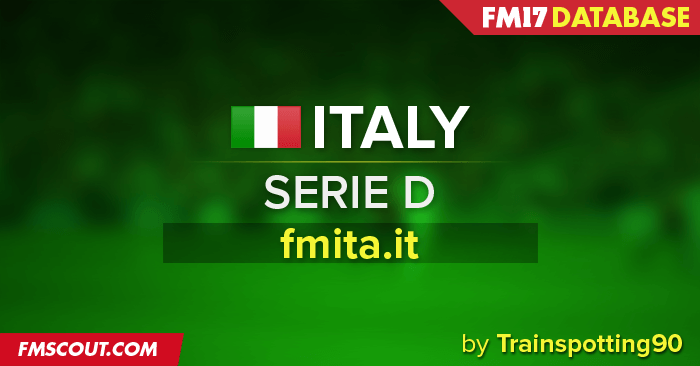 Football Manager 2017 League Updates - FMITA Italian Serie D for FM17