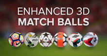 Enhanced 3D Match Balls for FM17