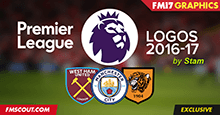 FM 2017 Premier League Logos