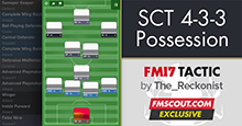 FM 2017 Possession Tactic - Scholes Can't Tackle 4-3-3