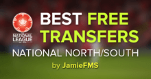 FM17 Shortlist: Best Free Transfers for National North-South