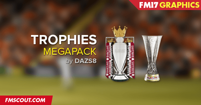 FM 2017 Misc Graphics - Football Manager 2017 Trophies Megapack
