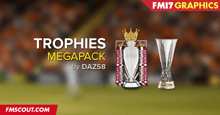Football Manager 2017 Trophies Megapack