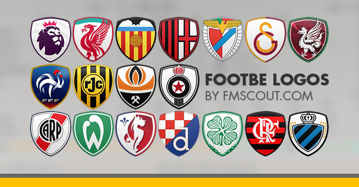 Football Manager 2019 Logo Packs - Footbe Logos 2018-19