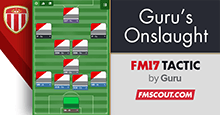 Guru's Onslaught - FM17 Aggressive Tactic for 17.1.1