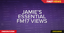 Jamie's Essential Football Manager 2017 Views