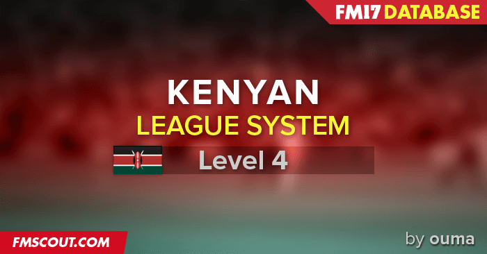 Football Manager 2017 League Updates - Kenya Leagues 2017