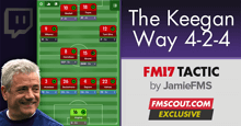 Jamie's Twitch 4-2-4 Kevin Keegan Tactic