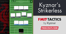 Kyznar's Strikerless & Fullbackless 3-4-3-0