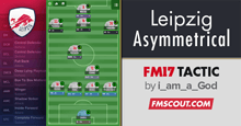 Ofonime's RB Leipzig Asymmetrical FM17 Tactic
