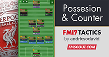 4-2-3-1 / 4-3-2-1 Possession and Counter - FM17 Tactics
