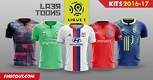 Laer-Toons: Ligue 1 kits 2016-17