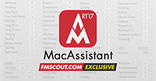 MacAssistant RT for FM17
