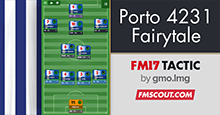 Porto/Spurs Fairytale v4 - Attacking 4-2-3-1 (updated for 17.1.1)