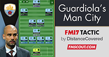 Recreating Pep Guardiola's Manchester City - FM17 Tactic