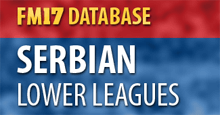 Serbian Lower Leagues for FM17