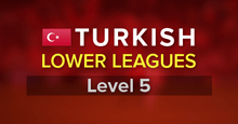 Turkish Lower Leagues for FM17