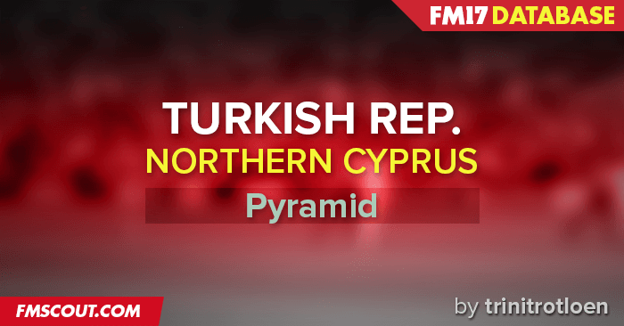 Football Manager 2017 League Updates - Turkish Republic of Northern Cyprus FM17