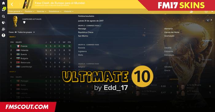 Ultimate 10 v1.1 (FM2017) Ultimate-10-fm17-skin
